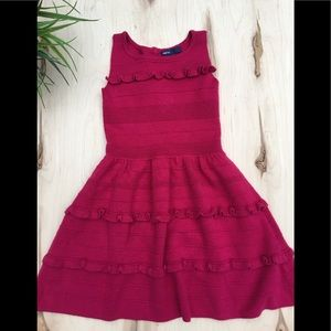 Gapkids pink knit dress
